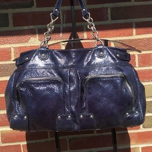 Arcadia Blue Shoulder Bag